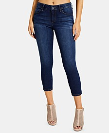 GUESS Sexy Curve Cropped Skinny Jeans