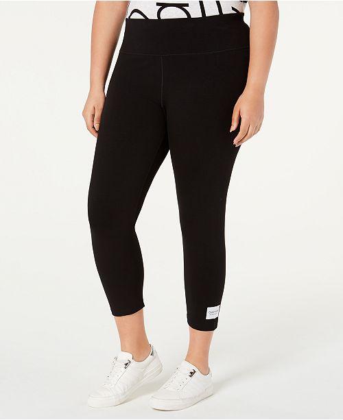 Calvin Klein Logo High-Waist Leggings