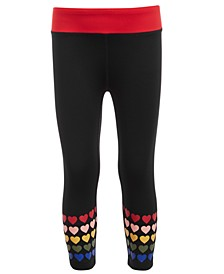 Little Girls Graphic-Print Capri Leggings, Created for Macy's