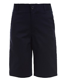 Nautica Big Boys Husky Hunter Flat-Front Stretch Twill Shorts