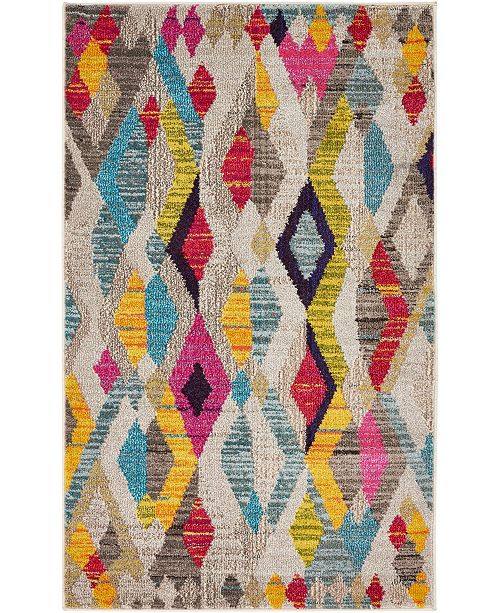 "Bridgeport Home CLOSEOUT! Arcata Arc6 Multi 3' 3"" x 5' 3"" Area Rug"
