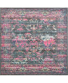 Aroa Aro1 Gray 8' x 8' Square Area Rug
