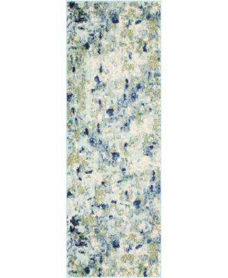 Crisanta Crs1 Light Blue 8' x 10' Area Rug
