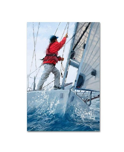 "Trademark Global The Macneil Studio 'Sailing' Canvas Art - 16"" x 24"""