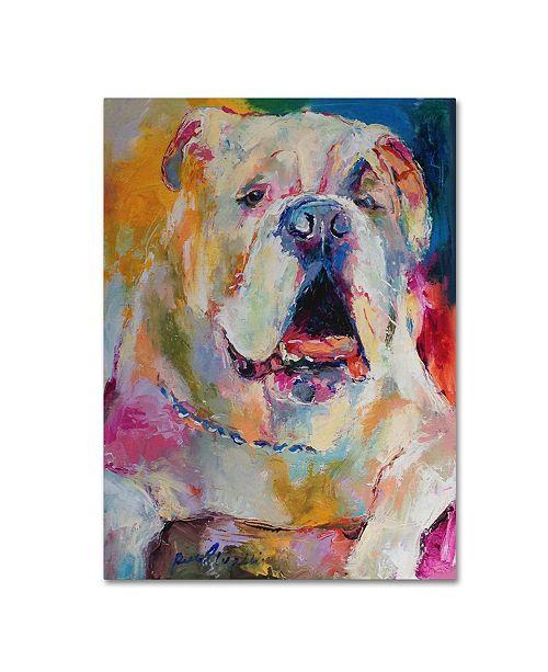 "Trademark Global Richard Wallich 'Art Bull' Canvas Art - 18"" x 24"""