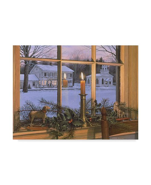 "Trademark Global William Breedon 'Season Of Peace' Canvas Art - 18"" x 24"""