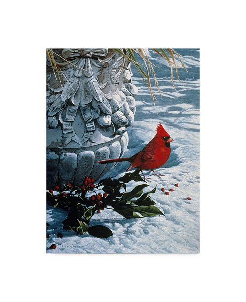 "Trademark Global Ron Parker 'Winter Holly' Canvas Art - 18"" x 24"""