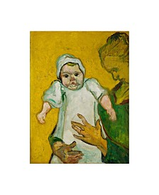 """Vincent Van Gogh 'Madame Roulin And Her Baby November' Canvas Art - 19"""" x 14"""""""