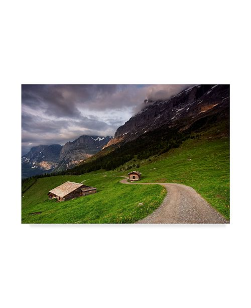 "Trademark Global Istvan Nagy 'Under The Clouds' Canvas Art - 24"" x 16"""