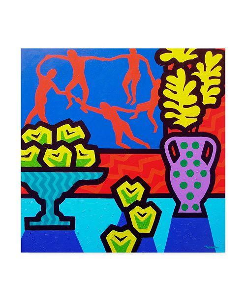 "Trademark Global John Nolan 'Still Life With Matisse' Canvas Art - 18"" x 18"""