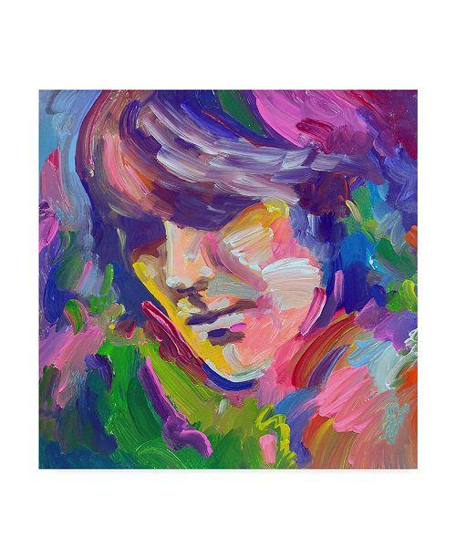 "Trademark Global Howie Green 'George Harrison Portrait' Canvas Art - 18"" x 18"""
