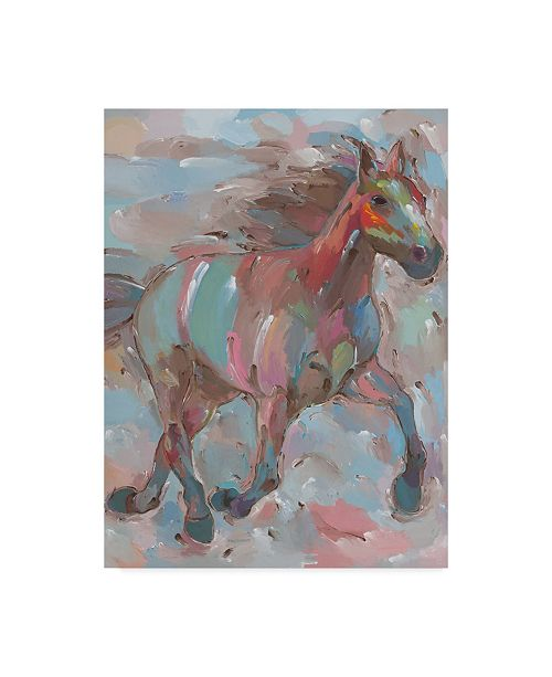 "Trademark Global Hooshang Khorasani 'Happy Hooves' Canvas Art - 24"" x 32"""