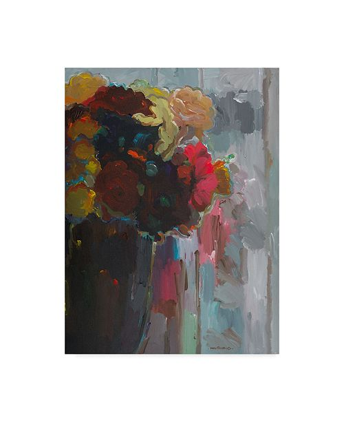 "Trademark Global Hooshang Khorasani 'Asymmetrical Bouquet 2' Canvas Art - 14"" x 19"""