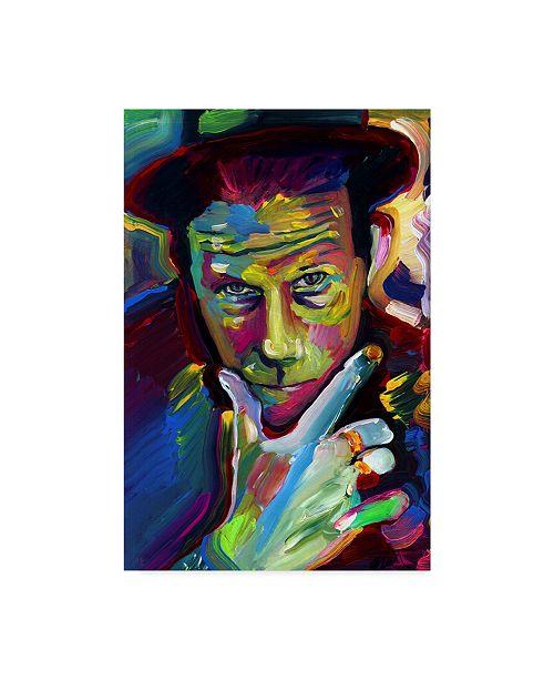 "Trademark Global Howie Green 'Tom Waits' Canvas Art - 12"" x 19"""