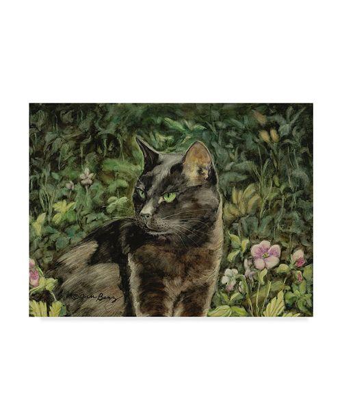 "Trademark Global Jan Benz 'Mama In The Garden' Canvas Art - 19"" x 14"""