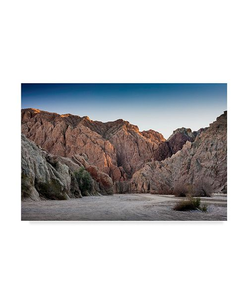"Trademark Global Janice Sullivan 'Painted Canyon' Canvas Art - 19"" x 12"""