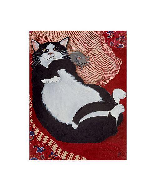 "Trademark Global Jan Panico 'Not A Creature Was Stirring' Canvas Art - 14"" x 19"""