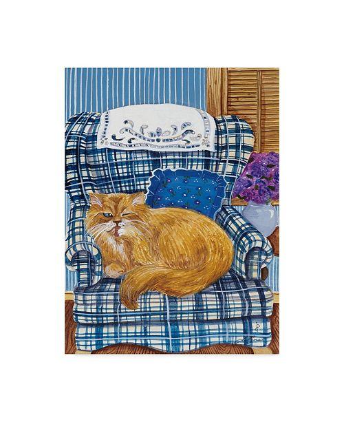 "Trademark Global Jan Panico 'Favorite Chair' Canvas Art - 18"" x 24"""