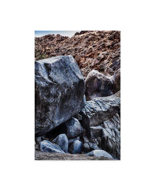 "Trademark Global Janice Sullivan 'Rocks Desert Hill' Canvas Art - 16"" x 24"""