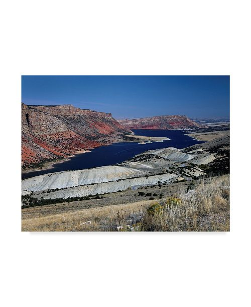 "Trademark Global J.D. Mcfarlan 'Flaming Gorge' Canvas Art - 24"" x 18"""