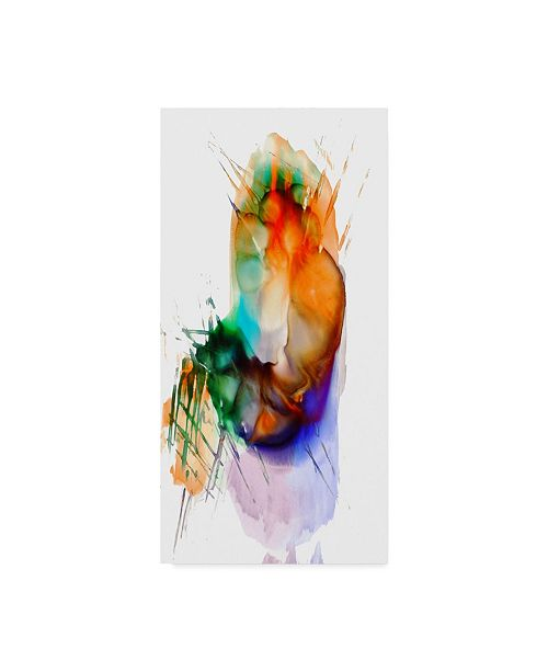 """Trademark Global Masters Fine Art 'Abstract Number 13' Canvas Art - 10"""" x 19"""""""