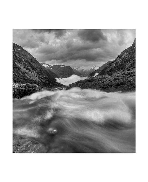 "Trademark Global Maciej Duczynski 'Mountain Rustic Norway 17' Canvas Art - 18"" x 18"""