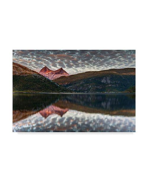 "Trademark Global Maciej Duczynski 'Mountain Rustic Norway 31' Canvas Art - 19"" x 12"""