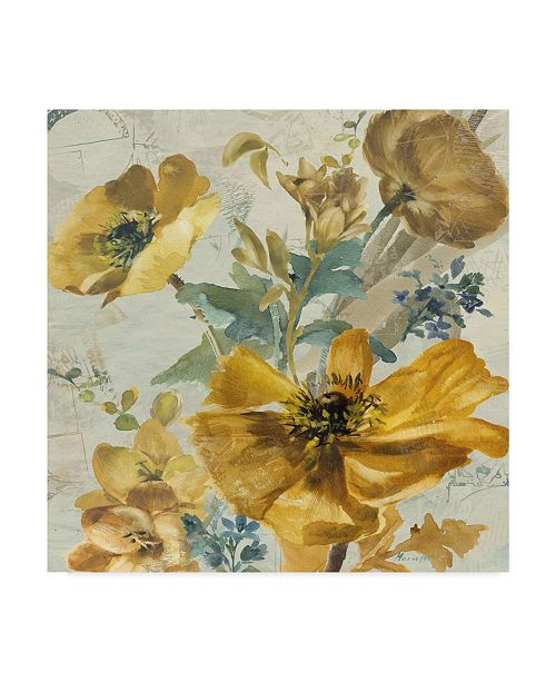 "Trademark Global Marietta Cohen Art And Design 'Wildflowers Bouquet 1' Canvas Art - 14"" x 14"""