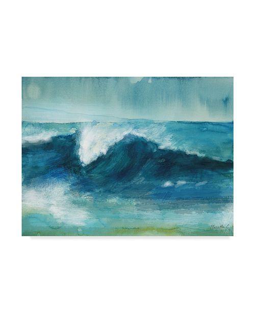 """Trademark Global Marietta Cohen Art And Design 'Ocean Waves 2' Canvas Art - 24"""" x 18"""""""