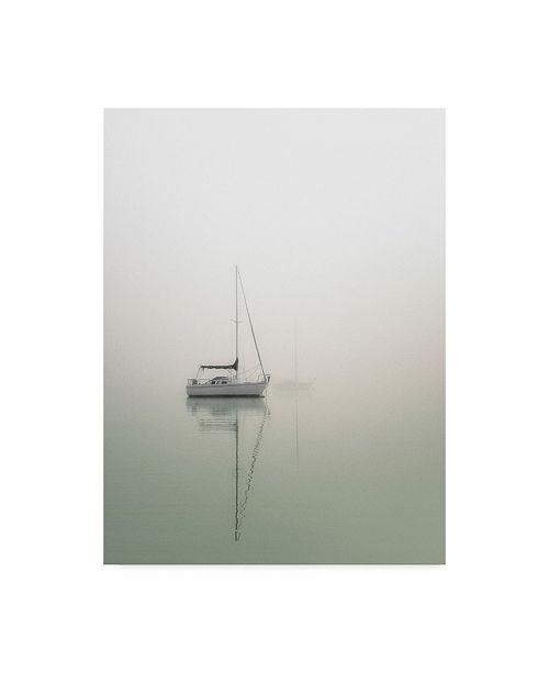 "Trademark Global Nicholas Bell Photography 'Sailboats On Calm Lake' Canvas Art - 18"" x 24"""