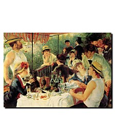 """Pierre Renoir, 'Luncheon of the Boating Party' Canvas Art - 19"""" x 14"""""""