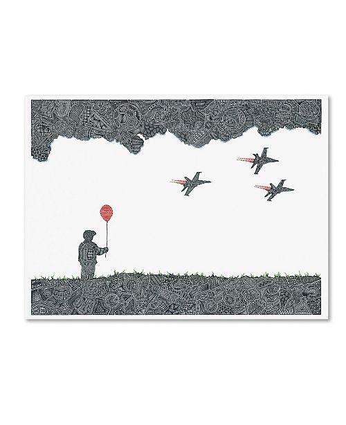 "Trademark Global Viz Art Ink 'Childhood Dreams' Canvas Art - 35"" x 47"""