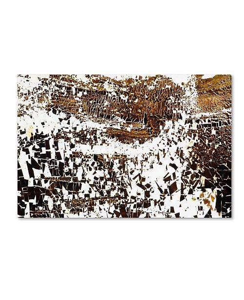 "Trademark Global Kika Pierides 'NA 2 (Everybody Run!)' Canvas Art - 30"" x 47"""