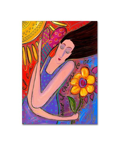 "Trademark Global Wyanne 'Big Diva I Am' Canvas Art - 24"" x 32"""