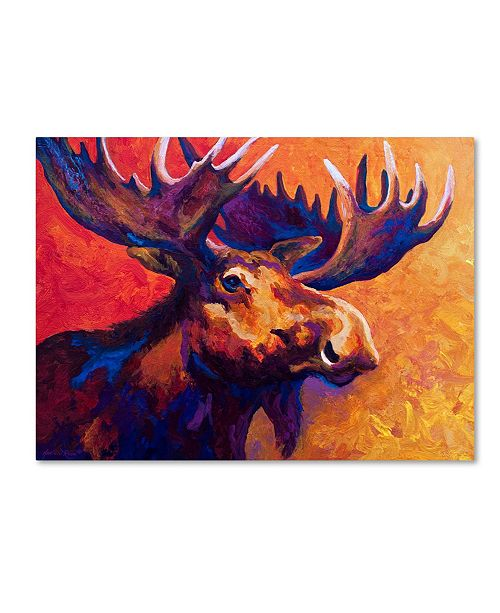 """Trademark Global Marion Rose 'Noble Pause' Canvas Art - 24"""" x 32"""""""