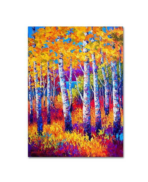 "Trademark Global Marion Rose 'Path To The Lake' Canvas Art - 24"" x 32"""