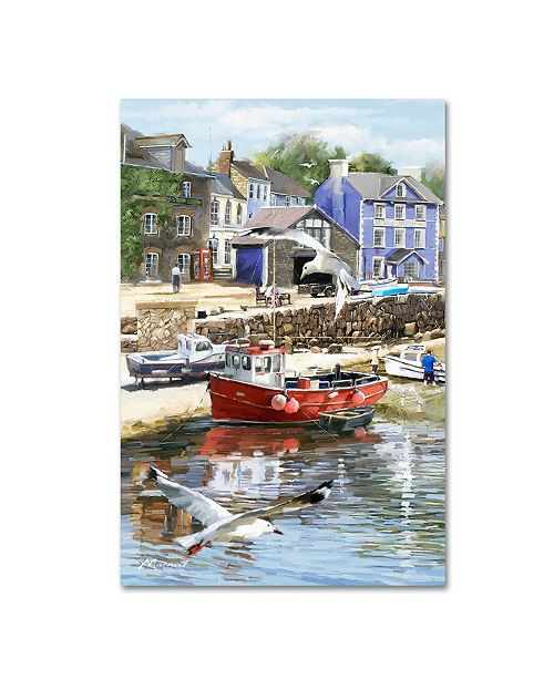 "Trademark Global The Macneil Studio 'Coastal Town' Canvas Art - 22"" x 32"""