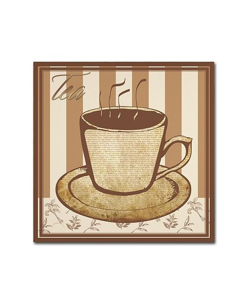 "Trademark Global Masters Fine Art 'Tea' Canvas Art - 24"" x 24"""
