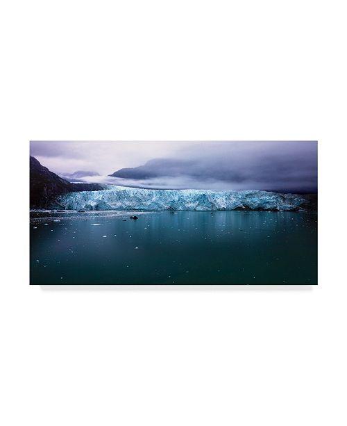 """Trademark Global Mitch Catanzaro 'Margerie Glacier' Canvas Art - 24"""" x 47"""""""