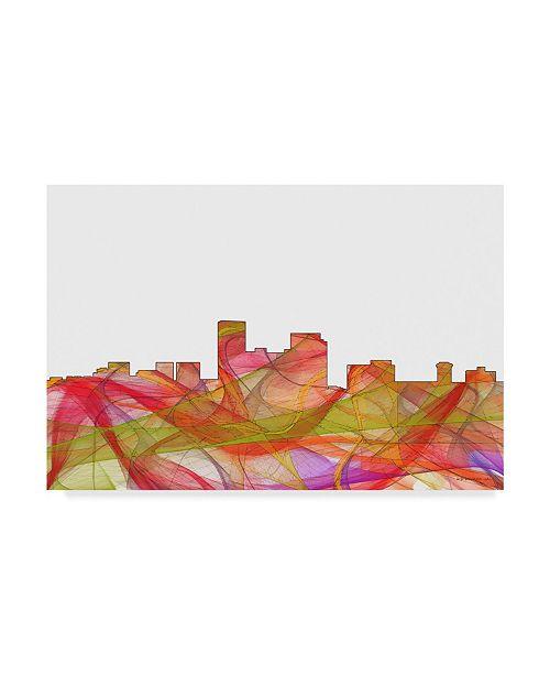 "Trademark Global Marlene Watson 'Lexington Kentucky Skyline' Canvas Art - 22"" x 32"""