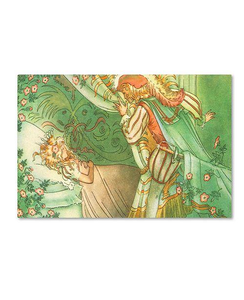 "Trademark Global Vintage Apple Collection 'CA Fairy 37' Canvas Art - 22"" x 32"""