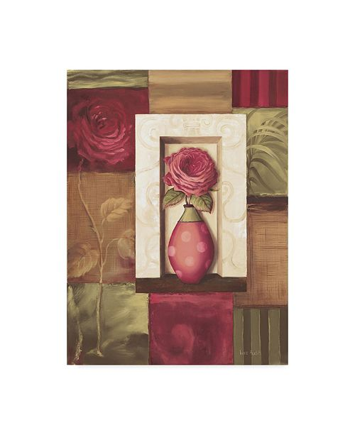 "Trademark Global Lisa Audit 'Vase 2' Canvas Art - 24"" x 32"""