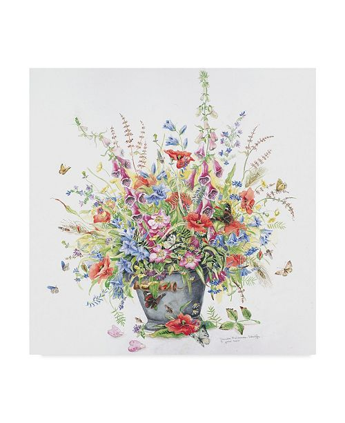 "Trademark Global Janneke Brinkman-Salentijn 'Bouquet For June' Canvas Art - 24"" x 24"""