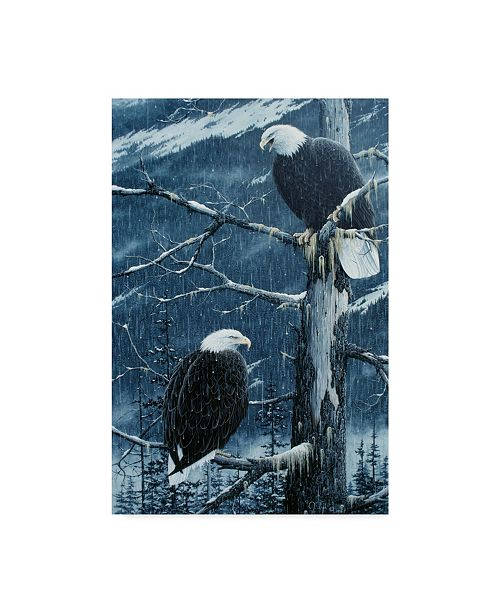 """Trademark Global Jeff Tift 'Another Rainy Day' Canvas Art - 30"""" x 47"""""""