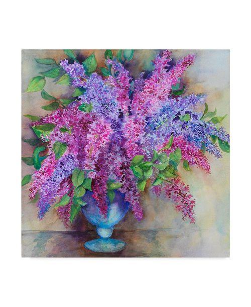 "Trademark Global Joanne Porter 'A Varity Of Lilacs' Canvas Art - 35"" x 35"""