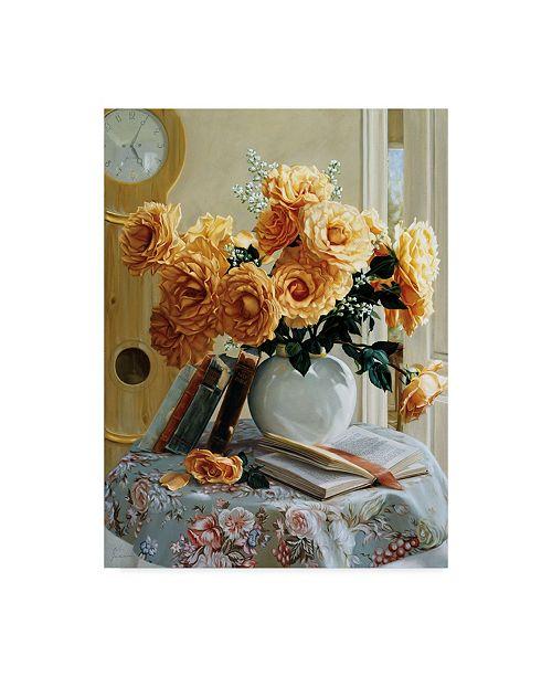 "Trademark Global Robin Anderson 'Five-O-Five' Canvas Art - 24"" x 32"""