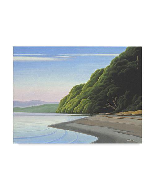 "Trademark Global Ron Parker 'Coastal Morning' Canvas Art - 35"" x 47"""