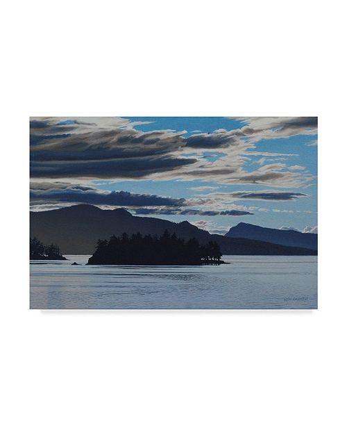 """Trademark Global Ron Parker 'Gulf Islands Evening' Canvas Art - 22"""" x 32"""""""