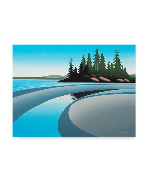 """Trademark Global Ron Parker 'Low Tide Pool' Canvas Art - 24"""" x 32"""""""