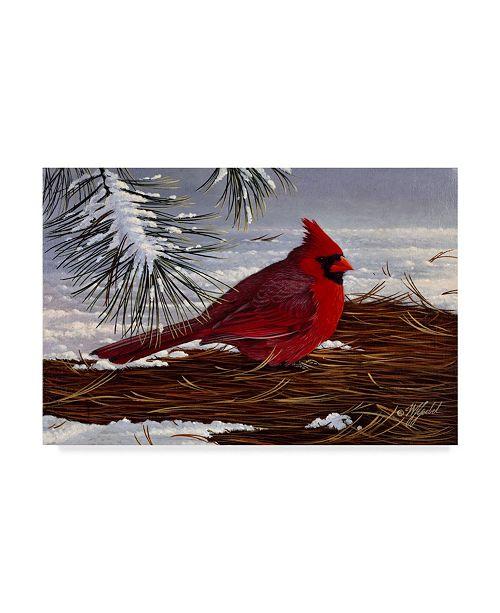 "Trademark Global Wilhelm Goebel 'Under The Pine' Canvas Art - 30"" x 47"""